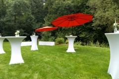 Auch der Garten bietet sich für eine Feier an